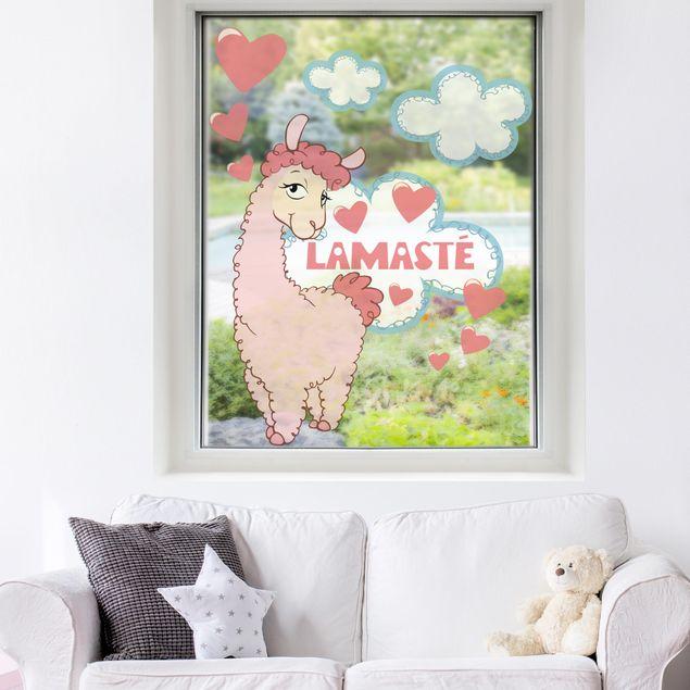 Produktfoto Fensterfolie - Fenstersticker NICI Lamasté