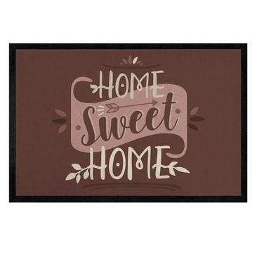 Produktfoto Fußmatte - Home sweet home vintage