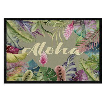 Produktfoto Fußmatte - Tropical Aloha
