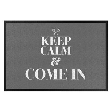 Produktfoto Fußmatte - Keep calm and come in