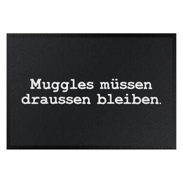 Produktfoto Fußmatte - Muggles