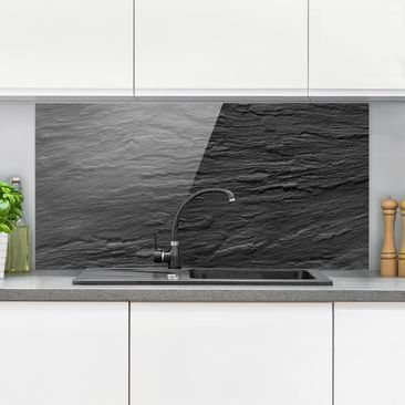 Product picture Glass Splashback - Slate - Landscape 1:2