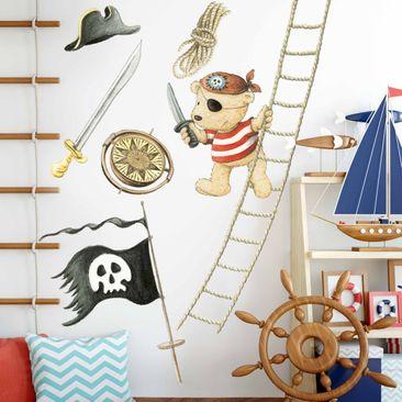 Produktfoto Wandtattoo - Pitzelpatz als Pirat