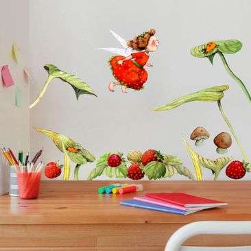 Product picture Wall Sticker - The Strawberry Fairy -...