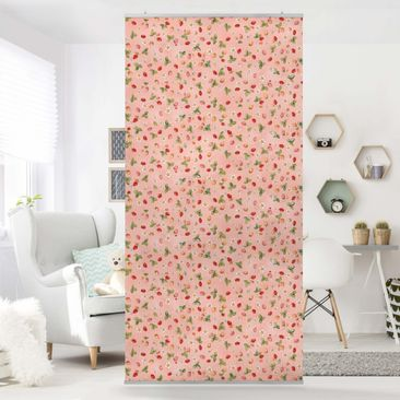 Immagine del prodotto Tenda a pannello - The Strawberry Fairy - Strawberry Flowers - 250x120cm