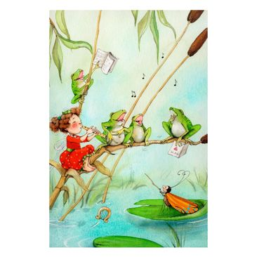 Product picture Window Mural  - The Strawberry Fairy -...