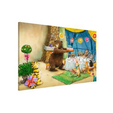 Immagine del prodotto Lavagna magnetica - Il piccolo tigrotto - Birthday Party - Formato orizzontale 3:2