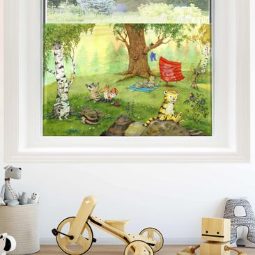 Product picture Window Mural  - Little Tiger -...