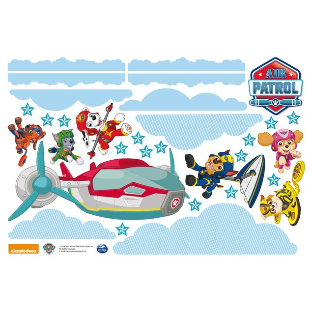 Produktfoto Fensterfolie Fenstersticker - PAW Patrol - Air Patrol