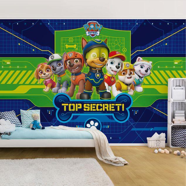 Produktfoto Tapete selbstklebend - PAW Patrol - Code Paw - Wandbild Querformat
