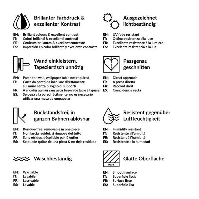 Produktfoto Vliestapete - Colours of the Wall - Quadrat