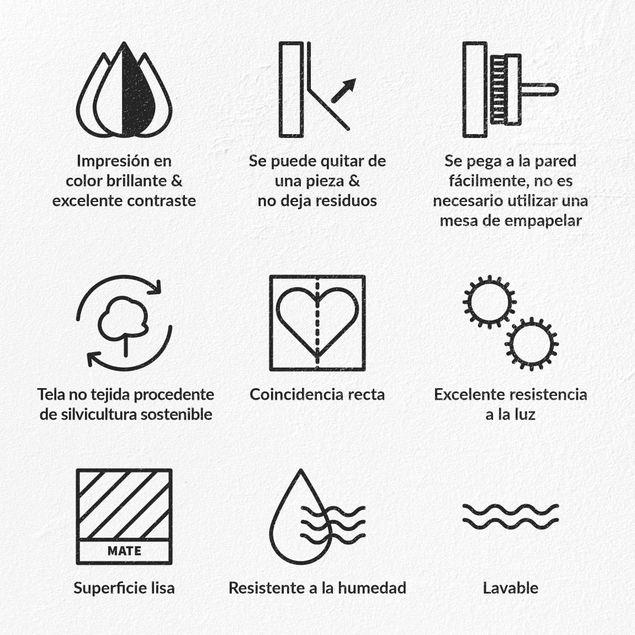 Produktfoto Vliestapete Premium - Kaktus Wand - Quadrat