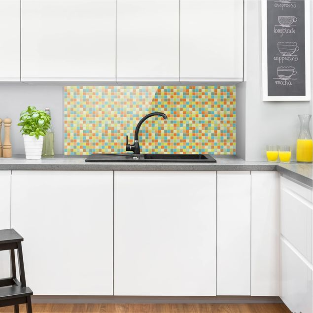Produktfoto Spritzschutz Glas - Mosaikfliesen Sommerset - Panorama