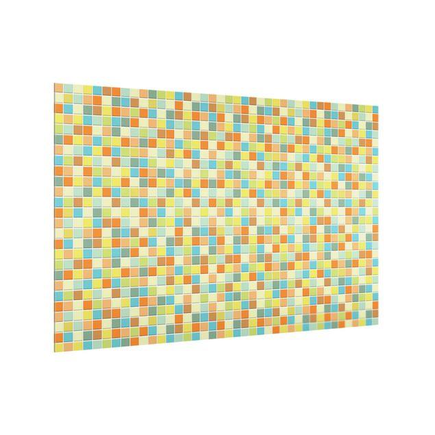 Produktfoto Spritzschutz Glas - Mosaikfliesen Sommerset - Querformat 2:3