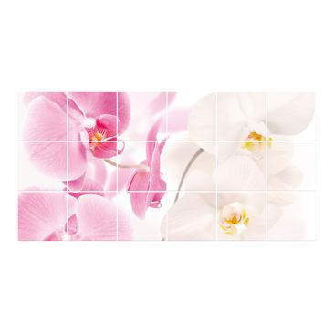 Product picture Tile Mural Delicate Orchids