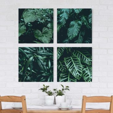 Product picture Canvas Art - Tropical Plants