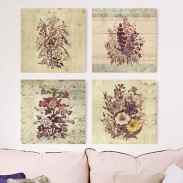 Product picture Canvas Art - Vintage Floral Collection