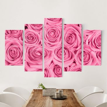 Product picture Canvas Art - Pink Roses