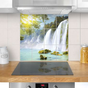 Product picture Tile Mural Amazon Waters