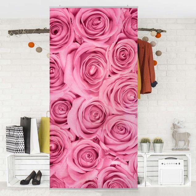 Produktfoto Raumteiler - Rosa Rosen - 250x120cm