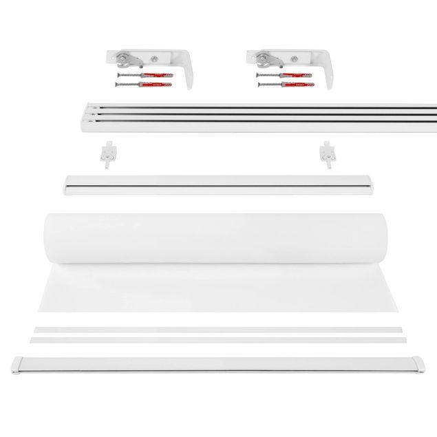 Produktfoto Schiebegardinen Set - Kirschblüten Aquarell - 4 Flächenvorhänge