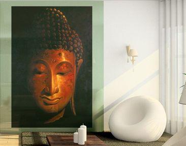 Produktfoto Fensterfolie - Sichtschutz Fenster Madras Buddha - Fensterbilder