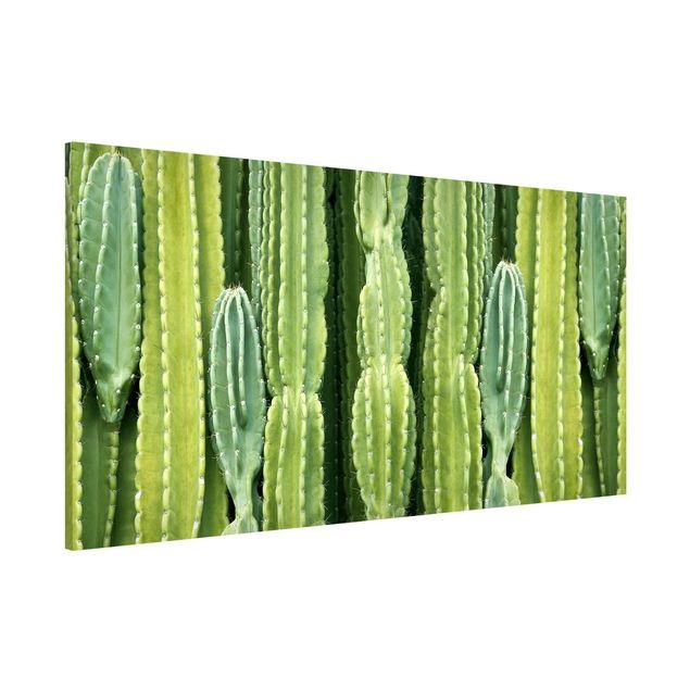 Produktfoto Magnettafel - Kaktus Wand - Memoboard Panorama Querformat 1:2