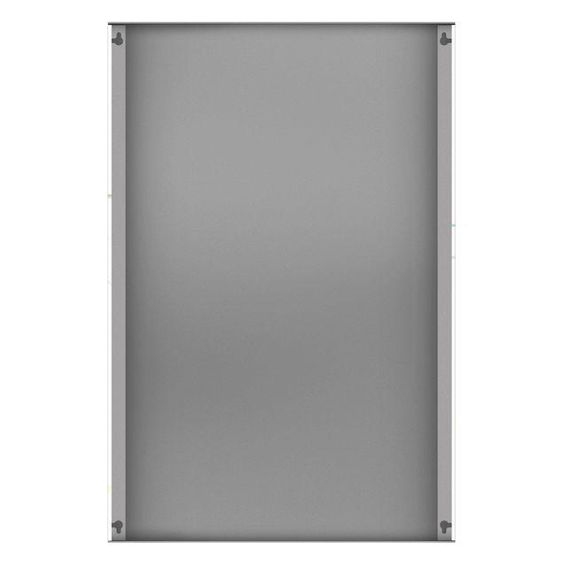 Produktfoto Magnettafel - Ananas Aquarell - Memoboard Hochformat 3:2