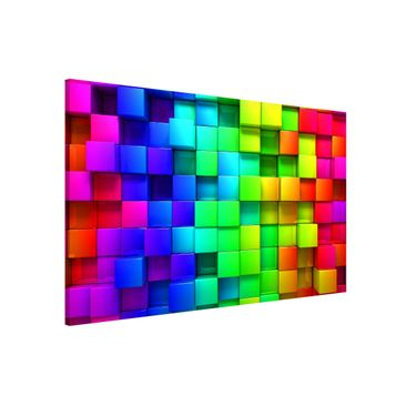 Product picture Magnetic Board - 3D Cubes - Landscape...