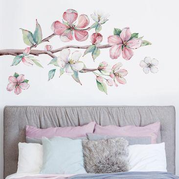 Produktfoto Wandtattoo - Kirschblütenzweig Aquarell