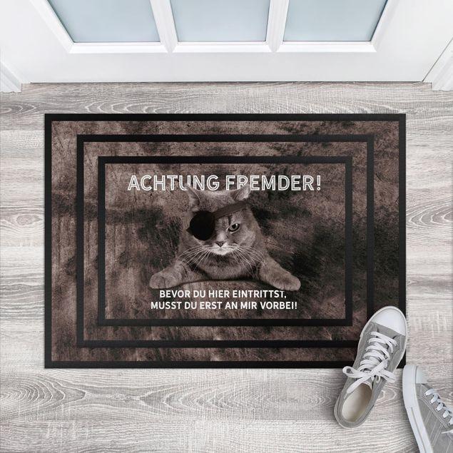 Produktfoto Fußmatte - Achtung Fremder
