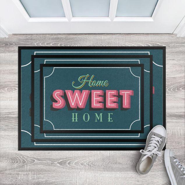 Produktfoto Fußmatte - Home sweet Home Retro II