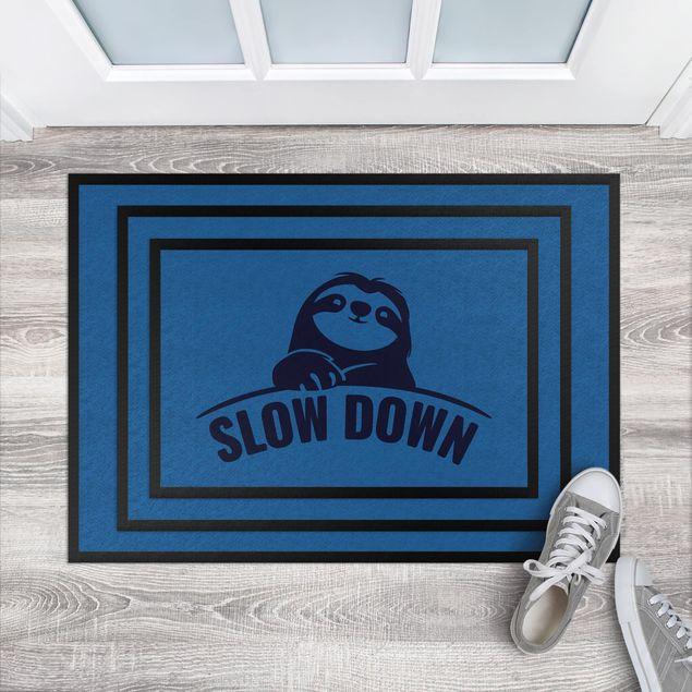 Produktfoto Fußmatte - Slow down