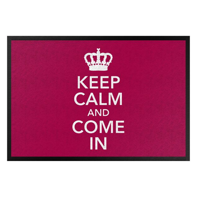 Produktfoto Fußmatte - Keep calm and come in II