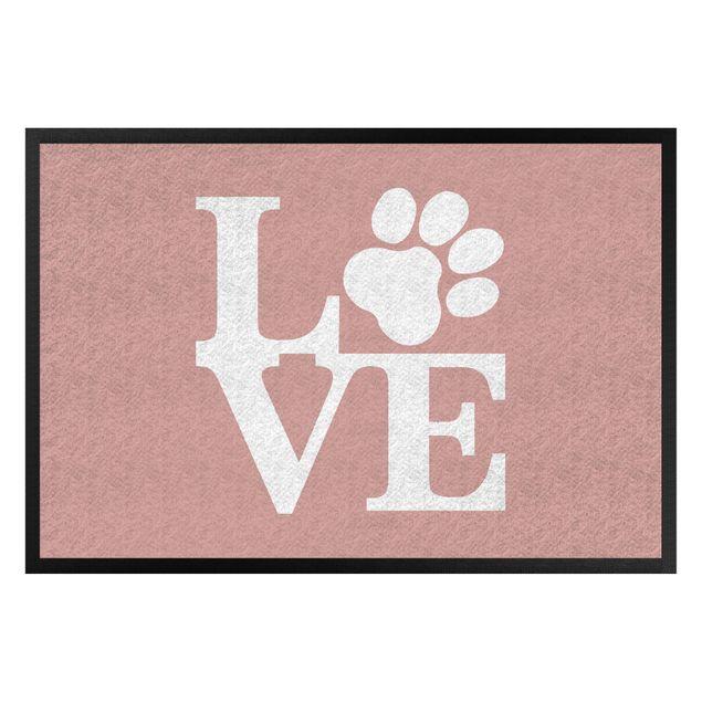 Produktfoto Fußmatte - Love Paw