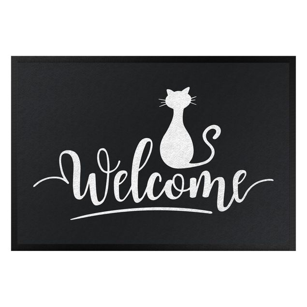 Produktfoto Fußmatte - Welcome Cat