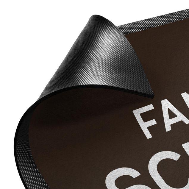 Produktfoto Fußmatte mit Wunschtext - Familienname Wunschtext