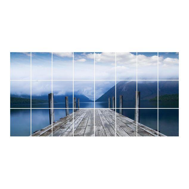 Produktfoto Fliesenbild - Nelson Lakes National Park...
