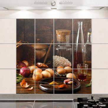 Immagine del prodotto Adesivo per piastrelle - Fragrances Cooking - Quadrato