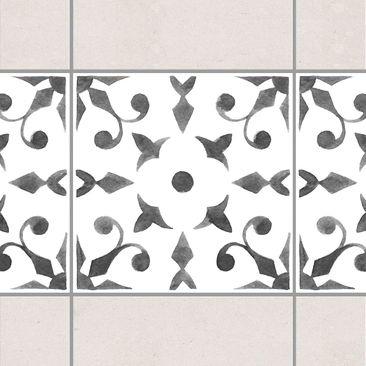 Immagine del prodotto Adesivo per piastrelle - Pattern Gray White Series No.6