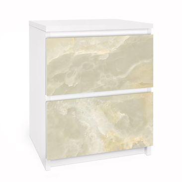 Immagine del prodotto Carta adesiva per mobili IKEA Malm Cassettiera 2xCassetti - Onyx Marble Cream