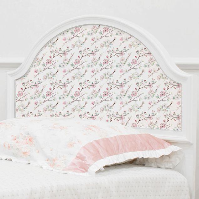 Produktfoto Möbelfolie - Kirschblütenzweige Aquarell