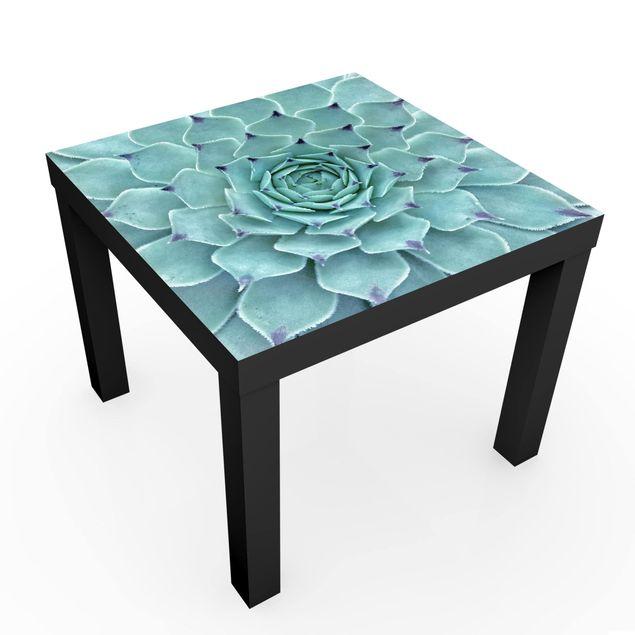 Produktfoto Möbelfolie für IKEA Lack - Kaktus Agave - Klebefolie