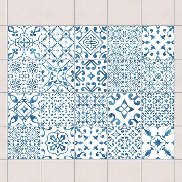 Immagine del prodotto Adesivo per piastrelle - Blue White...