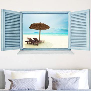 Immagine del prodotto Adesivo murale 3D - Beach Of Dreams