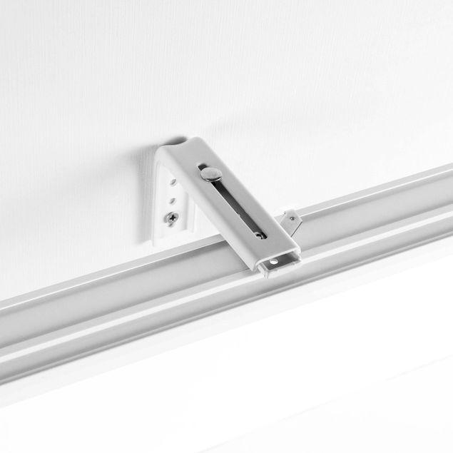 Produktfoto Schiebegardinen Set - Shabby Bücherwand schwarz weiß - 6 Flächenvorhänge