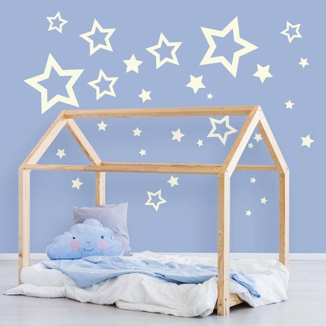 Produktfoto Wandtattoo - Sterne Mix