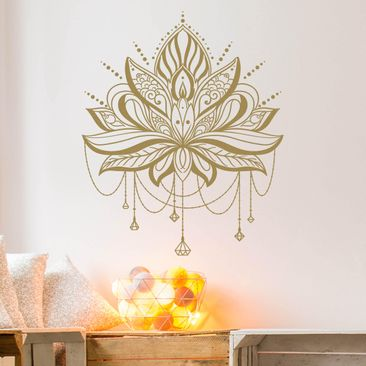 Product picture Wall Decal - Lotus With Chains