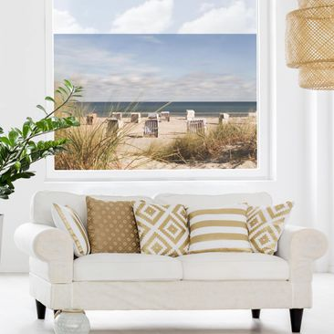 Product picture Window Mural - Baltic Sea And Beach...