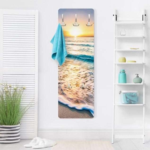 Produktfoto Garderobe - Sonnenuntergang am Strand